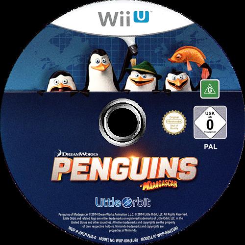 Penguins of Madagascar WiiU discM (APGPVZ)