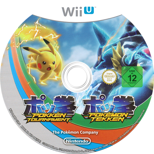 Pokkén Tournament WiiU discM (APKP01)