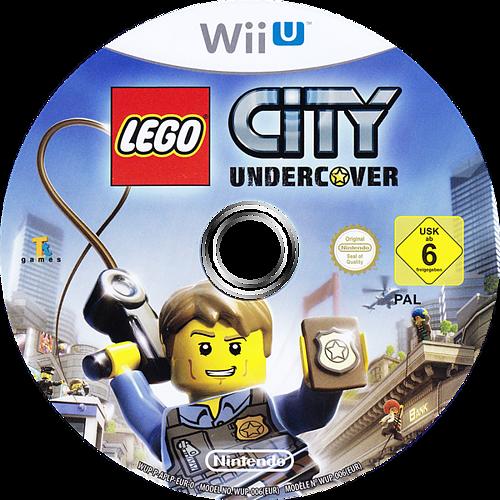 LEGO City Undercover WiiU discM (APLP01)