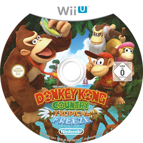 Donkey Kong Country: Tropical Freeze WiiU discM (ARKP01)