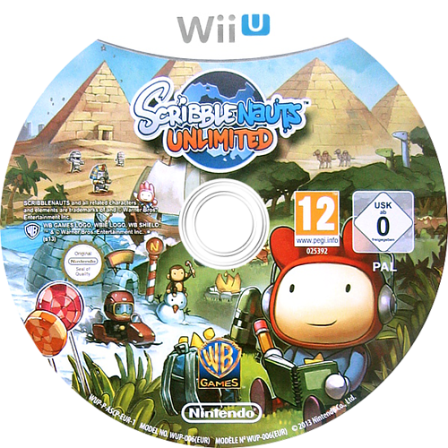 Scribblenauts Unlimited WiiU discM (ASCP01)