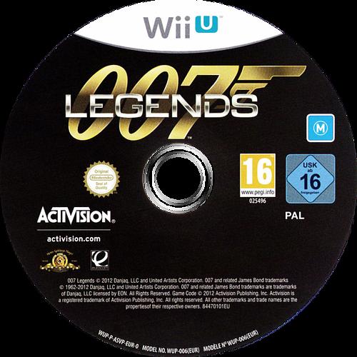 007 Legends WiiU discM (ASVP52)