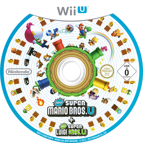 New Super Mario Bros. U + New Super Luigi U WiiU discM (ATWP01)