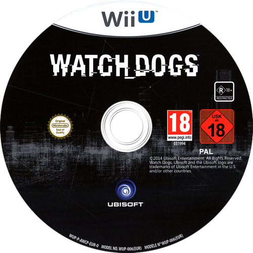 Watch Dogs WiiU discM (AWCP41)