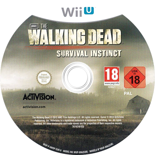 The Walking Dead: Survival Instinct WiiU discM (AWDP52)