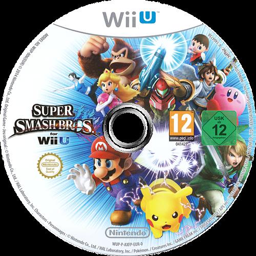 Super Smash Bros. for Wii U WiiU discM (AXFP01)