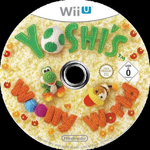 Yoshi's Woolly World WiiU discM (AYCP01)