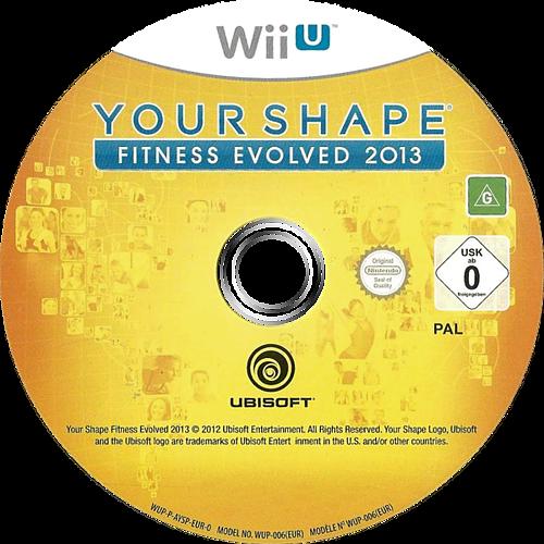 Your Shape: Fitness Evolved 2013 WiiU discM (AYSP41)