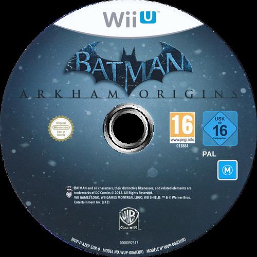 Batman:Arkham Origins WiiU discM (AZEPWR)