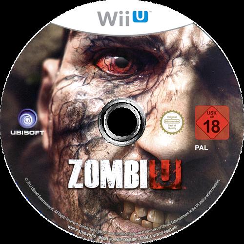 ZombiU WiiU discM (AZUD41)