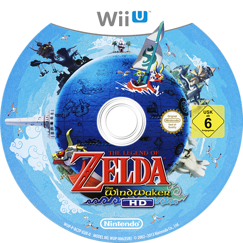 The Legend of Zelda: The Wind Waker HD WiiU discM (BCZP01)