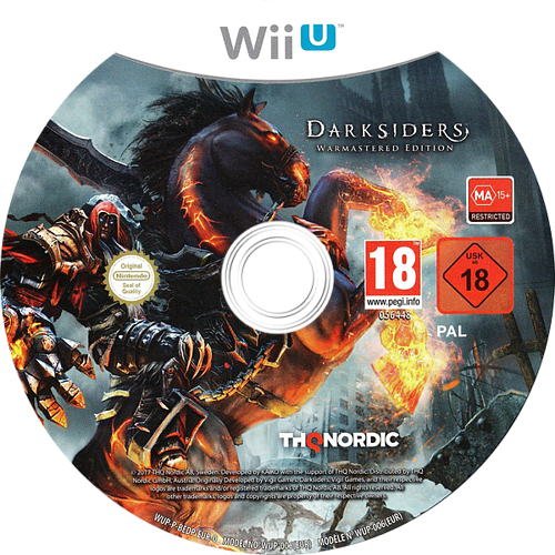 Darksiders - Warmastered Edition WiiU discM (BEDP6V)