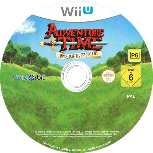 Adventure Time: Finn & Jake Investigations WiiU discM (BFNPVZ)