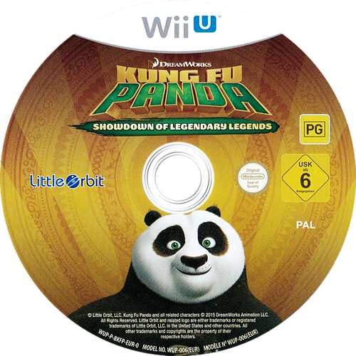 Kung Fu Panda: Showdown of Legendary Legends WiiU discM (BKFPVZ)