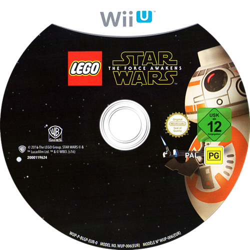 LEGO Star Wars: The Force Awakens WiiU discM (BLGPWR)