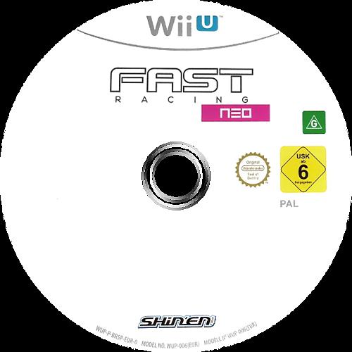 FAST Racing NEO WiiU discM (BR5PJX)