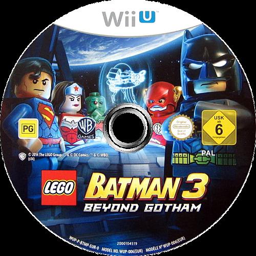 LEGO Batman 3: Beyond Gotham WiiU discM (BTMPWR)