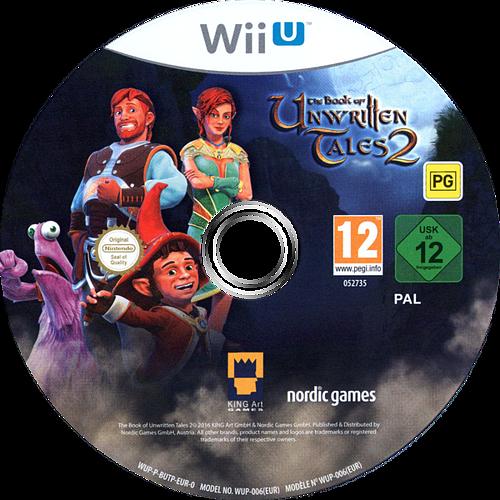 The Book of Unwritten Tales 2 WiiU discM (BUTP6V)