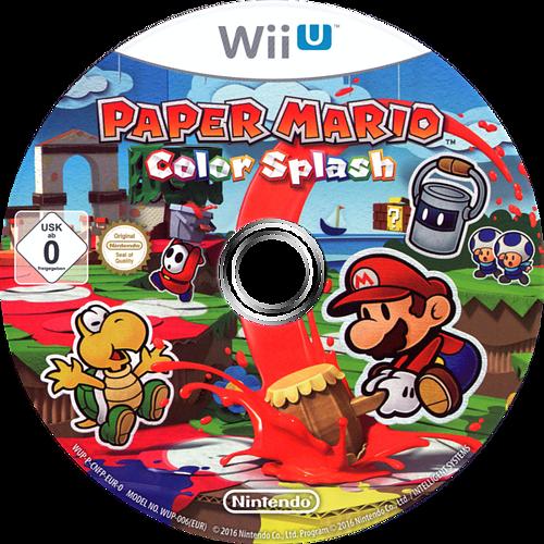 Paper Mario: Color Splash WiiU discM (CNFP01)