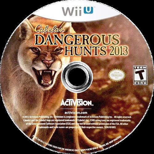 Cabela's Dangerous Hunts 2013 WiiU discM (ACAE52)