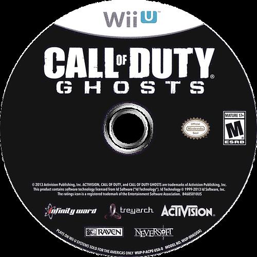 Call of Duty: Ghosts WiiU discM (ACPE52)