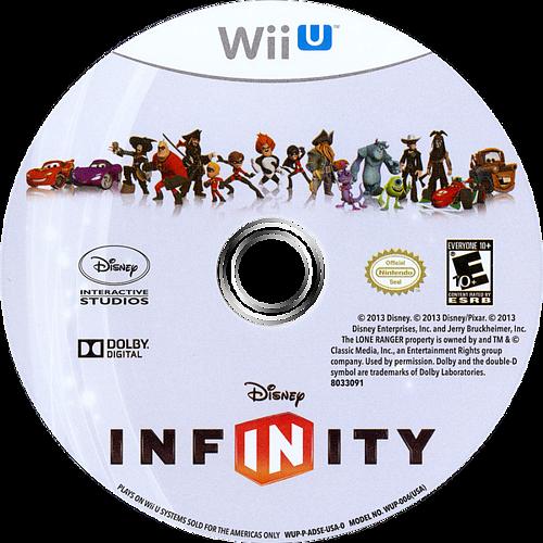 Disney Infinity WiiU discM (ADSE4Q)