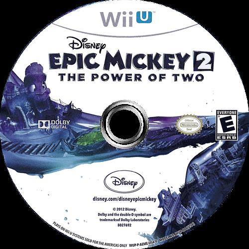 Disney Epic Mickey 2: The Power of Two WiiU discM (AEME4Q)