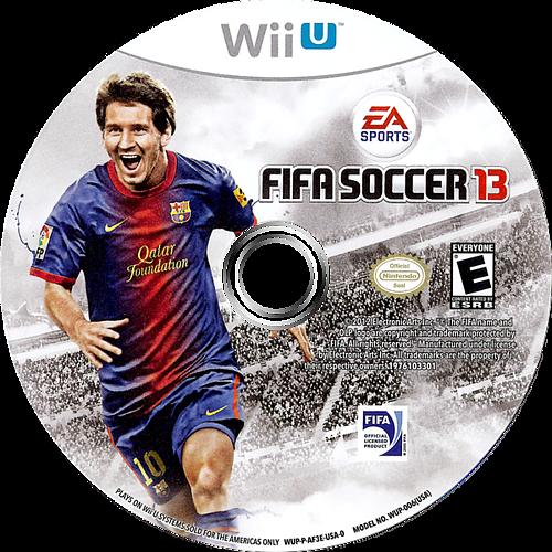 FIFA Soccer 13 WiiU discM (AF3E69)