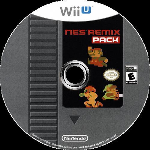 NES Remix Pack WiiU discM (AFDE01)