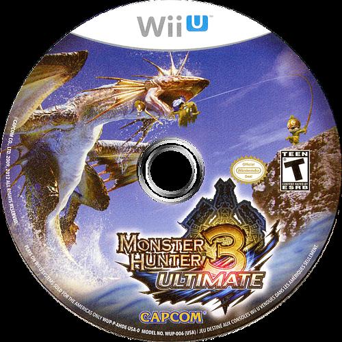 Monster Hunter 3 Ultimate WiiU discM (AHDE08)