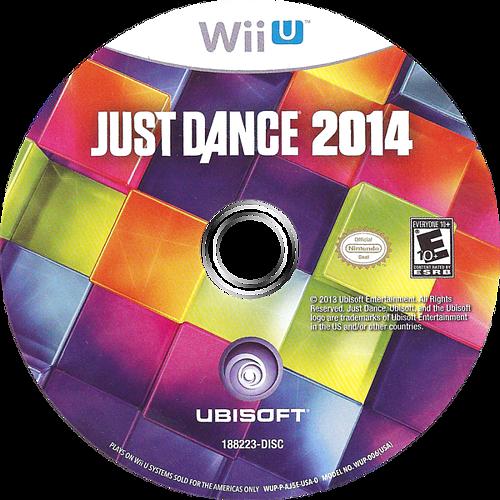 Just Dance 2014 WiiU discM (AJ5E41)
