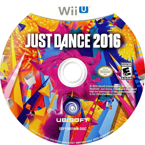 Just Dance 2016 WiiU discM (AJ6E41)