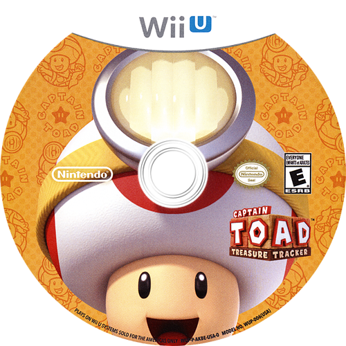 Captain Toad: Treasure Tracker WiiU discM (AKBE01)