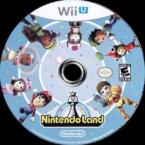 Nintendo Land WiiU discM (ALCE01)