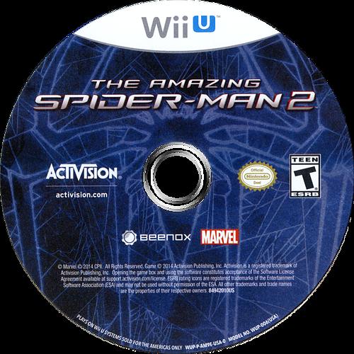 The Amazing Spider-Man 2 WiiU discM (AM9E52)