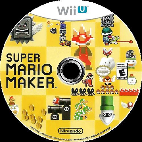 Super Mario Maker WiiU discM (AMAE01)