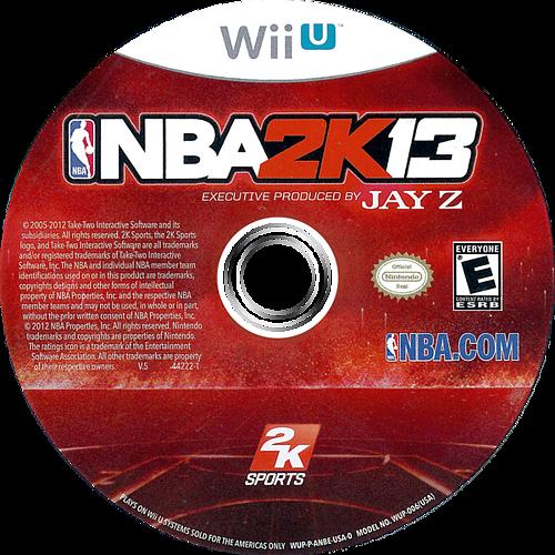 NBA 2K13 WiiU discM (ANBE54)