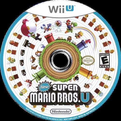 New Super Mario Bros. U WiiU discM (ARPE01)