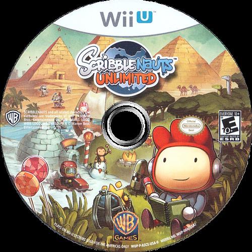 Scribblenauts Unlimited WiiU discM (ASCEWR)