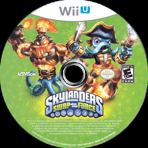Skylanders: Swap Force WiiU discM (ASFE52)