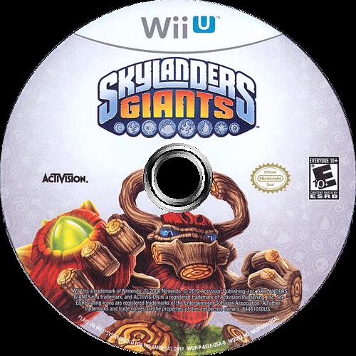 Skylanders: Giants WiiU discM (ASLE52)