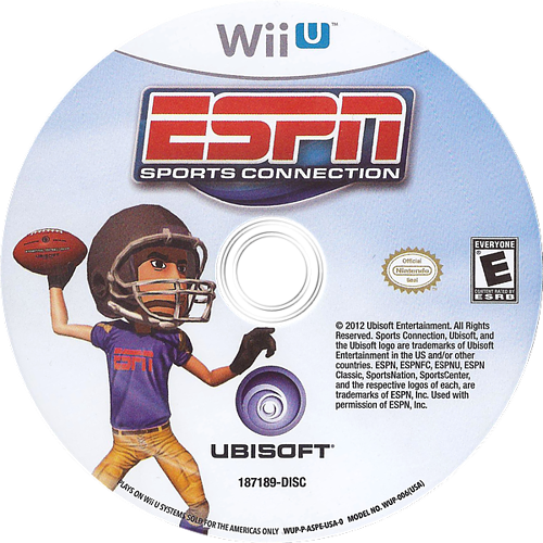 ESPN Sports Connection WiiU discM (ASPE41)
