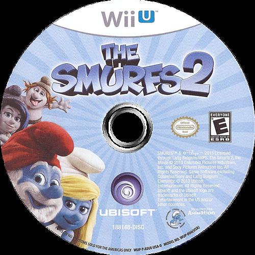 The Smurfs 2 WiiU discM (ASUE41)