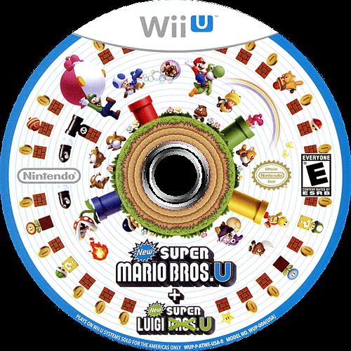 New Super Mario Bros. U + New Super Luigi U WiiU discM (ATWE01)