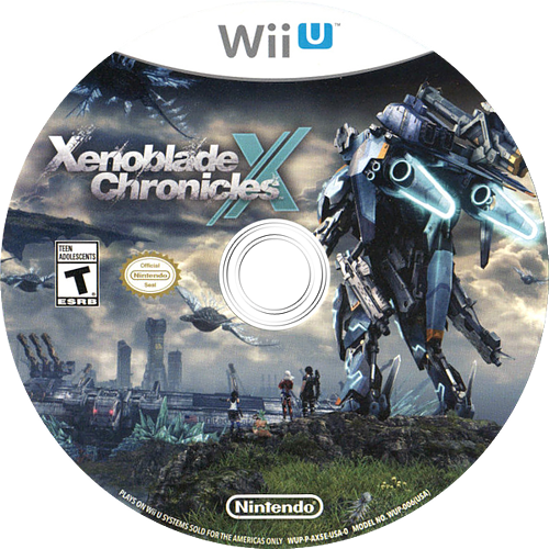 Xenoblade Chronicles X WiiU discM (AX5E01)