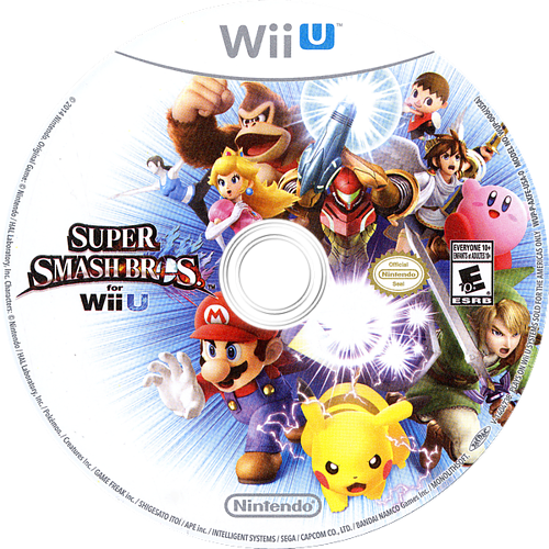 Super Smash Bros. for Wii U WiiU discM (AXFE01)