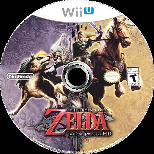 The Legend of Zelda: Twilight Princess HD WiiU discM (AZAE01)