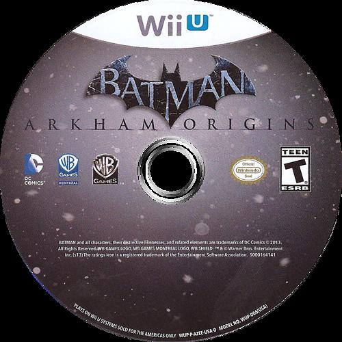 Batman:Arkham Origins WiiU discM (AZEEWR)