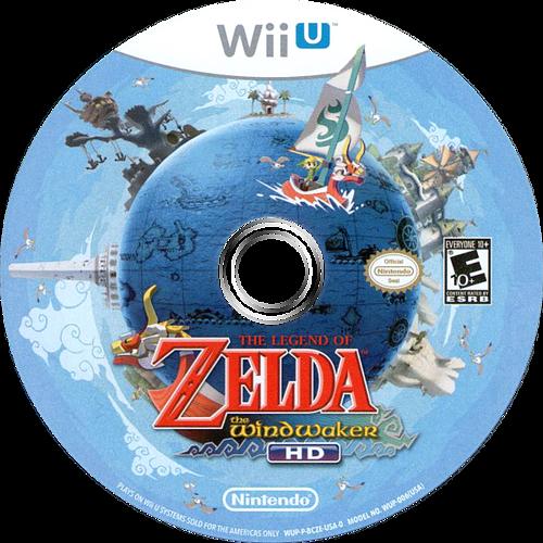 The Legend of Zelda: The Wind Waker HD WiiU discM (BCZE01)