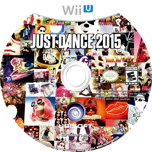 Just Dance 2015 WiiU discM (BJDE41)